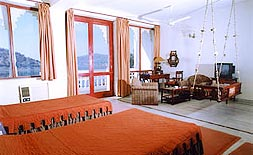 Well Appointed Lake View Room at Jaisamand Island Resort, Udaipur