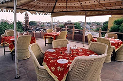 Roof Top Restaurant with the view of Clock Tower