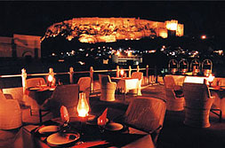 Roof Top Restaurant with the view of Mehrangarh Fort