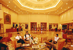 The Lobby :: The Ummed, Jodhpur
