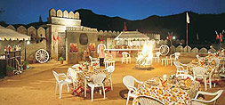 Special Theme Dinner at Hotel Shikarbadi, Udaipur